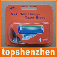Wholesale Neutral package for Men Razor Blade F5 Model Grade High Quality razor blades pack