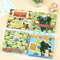 Wholesale Despicable Me cartoon mini diary Notebook Notepad Memo Note paper Cheap notebook Fashion Gift