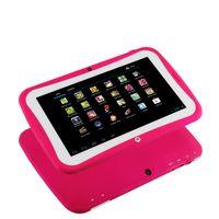 Wholesale 2014 NEW Preschool Education Kids Dual Core Tablet PC Inch HD Screen RK3028 Android MB RAM GB ROM Bluetooth WIFI Dual Camera
