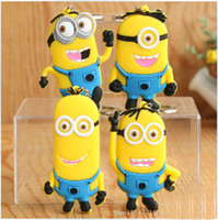 Cheap Promotion doll toys Best Silicone  Despicable Me keychain bag