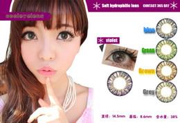 Wholesale pairs Contact lenses lens Color Contact Tones colors EYE