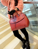 Wholesale AAAAA quality Real PU leather Fashion Bags designer bag women s handbag Rivets bag