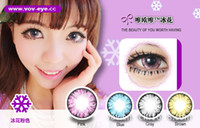 Wholesale HOT PAIRS VOV Ice Flowers Contact lenses lens Color Contact