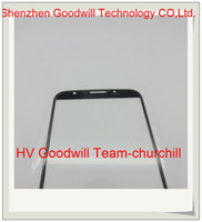 For Samsung Touch Screen  Samples Opening Tools and 3M Adhesive with Touch Screen Outer Glass front lens for Samsung Galaxy Mega i9200 9200 with logo from churchill