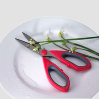 Wholesale Multifunctional Stainless Steel Household Kitchen Scissors Chicken Wing Shears Fish Bone Scissors Bottle Uncorking SCKT10003