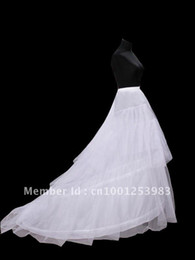 Newest Gorgeous Wedding Petticoat crinoline train Bridal Accessories wedding dresses petticoat Hot sale