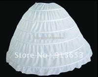 Новые Fabulous Элегантная мода Новый белый 6 изогнутый Свадебные Петтикот нижняя Свадебные аксессуары **** Hot Sale !!!