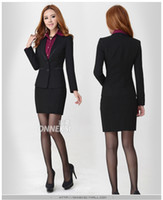 Wholesale Fashion high quality lady career suits women work clothes business suits nice suits for girls