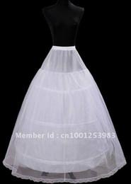 Cheapeat 3 Hoop Wedding Bridal Gown Dress Petticoat Underskirt Crinoline Wedding Accessories