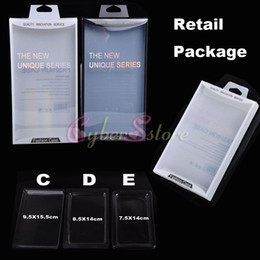 Wholesale 200pcs Empty Retail Package Plastic Box Packaging For iPhone Samsung Galaxy Mobile Phone Hard Leather Case