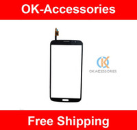 For Samsung Touch Screen For Samsung Touch Screen Digitizer For Samsung Galaxy Mega 6.3 I9200 I9205 1PC Lot Free Shipping