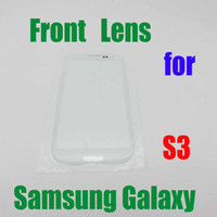 Wholesale Lowest Price New Colorful Replacement Front Screen Lens Outer Glass For SAMSUNG GALAXY S3 with Logo