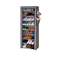 Wholesale Brand New Dustproof Stand Shelf for Shoes Boot Hanger Storage Cotton made Shoe Cabinet Tower Rack Organizer
