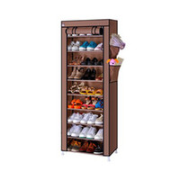 Wholesale Dustproof Stand Shelf for Shoes Boot Hanger Storage Cotton made Shoe Cabinet with Doors Tower Rack Organizer
