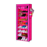 Wholesale Brand New Dustproof Stand Shelf for Shoes Hanger Storage Cotton made Shoe Cabinet Tower Rack Organizer