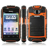 Wholesale Discovery V5 Smart Phone Waterproof Dustproof Shockproof Android Ghz Cortex A9 Capacitive screen WIFI Dual Camera COLORS