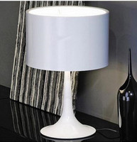 table lamp - FLOS Spun Light Table Lamp By Sebastian Wrong Spun aluminum alloy lamp Light gentleman Table LED lighting lights living room bedroom lamp