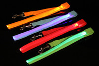 100pcs Fedex free, 6 colrs 2. 5*120CM Waterproof flashing ligh...
