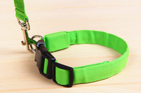 2. 5*120CM Waterproof flashing light up led pet lead leash, fl...