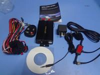 Perseguidor tk103B del GPS del coche del vehículo con la ranura para tarjeta teledirigida de la alarma del G / M Anti-robo / sistema de alarma del coche