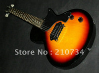 Wholesale New arrival Custom Shop G Les Junior Electric Guitar Sunburst Best Guitars Top High Quality