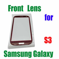 4 colors new replacement Front Screen Lens Outer Glass For S...