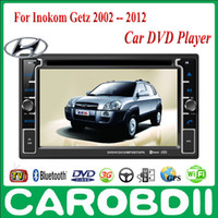 1 DIN Special In-Dash DVD Player 3.5 Inch Android HYUNDAI Inokom Getz Car DVD Player 2002-2012 With GPS 3G Radio Wifi Hotspot RDS Analong TV bluetooth Inokom Getz