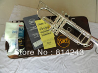 Yes Bb Yellow Brass Copy the baja BachLT180S-37 small instruments surface silver brass instruments Bb trumpet