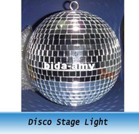 Wholesale FT inches Reflective Glass Ball Light LED Disco Crystal Ball Mirror Stage Lighting Effect