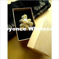 Wholesale High quality Jewelry packing and display Jewelry gift Box Ring Necklace Box Bracelet Brooch Box Paper box RJ1309