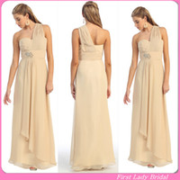 Design Bridesmaids Dresses Online Free New Design One Shoulder Dessy
