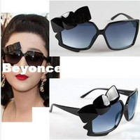 Sports Butterfly Man Wholesale New Fashion Retro Lady Women Men Sunglasses Vintage Fan bingbing same style Bowknot Sunglasses Square Sunglasses RJ302