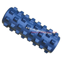 Wholesale Freeshipping Fifth Generation topgrade natural rubber textured yoga foam roller amp Rumble Roller
