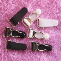 Wholesale 100 Metal Detachable Garter Hook Garter Clip Grip