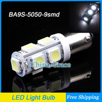 5050 Wedge  BA9S 9 SMD 5050 LED Car Side Light Interior lights Bulb, 12V LED Indicators Light