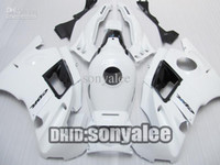 Cheap ABS fairing kit For Honda CBR600 F2 CBR600F2 1991 - 1994 91 92 93 94 CBR 600 CBRF2 white 7 Gifts F2