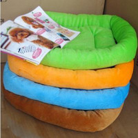 Wholesale hot sale Hot Sale Colorful Candy Four Seasons Pet Dog amp Cat Bed House with Soft Pet Nest Pads for Pets Size M