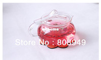 Wholesale Promotion teaware glassware tea cup glass tea pot tea bowl for flower tea