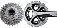 Cranksets Fixed Gear Bikes  Crankset Freewheel FC-9000 CS-9000 11S Bicycle Bike Crank Chainwheel