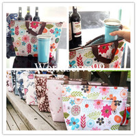 Wholesale Thermal Picnic Lunch Carry Tote Waterproof Insulated Cooler Travel Food Zipper Shopping Bag Organizer