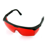 Wholesale New nm Eye Protection Anti Laser Safety Red Lens Glasses Goggles High Quality HJLP