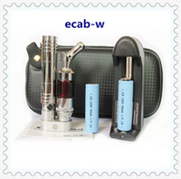 Wholesale E Cigarette Mod Kits E Cig Ecab W Kit Protank2 Atomizer Tank Protank Clearomizers Ecab w mAh Battery Ego Electronic Cigarette