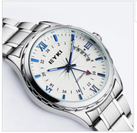 Wholesale 2013 Ikey eyki male watch steel strip calendar automatic machinery fashion mens watch