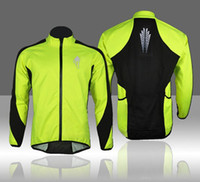 Wholesale WOLFBIKE MenThermal Fleece Winter Cycling Soft Shell Coat Bike Bicycle Windproof Jacket Cycling Jerseys Cycling Jackets Green sports wear