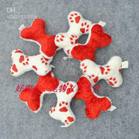 Wholesale Cute color bone suede sounder pet toys for dog cat cm