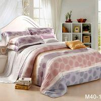 Wholesale Brand New Tencel soft bedcover silk bedding set luxury bedclothes King queen adult bed sheet bedlinen pillow case sets