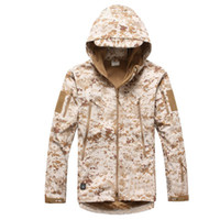Wholesale 201420142014Hot sale men and women s sharkskin waterproof solid camouflage Pizex for winter drop shipping MWJ119