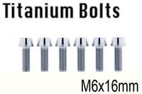 allen head screwdriver - New Titanium Bolt M6x16 Tapered Hex Allen Head M6 L Bicycle Bike Screw Washer