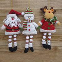 Wholesale 201420142014 Hot sale Christmas gift indoor decoration snowman toy Christmas ornaments drop shipping SHB139