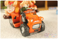 Wholesale excellent home accessories resin crafts doll ornaments creative gifts three truck models are not spending mixed batchYY8 YY